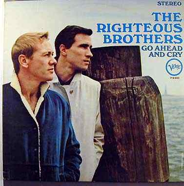 The Righteous Brothers Go Ahead and Cry cover art