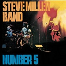 Steve Miller Band Number 5 cover art