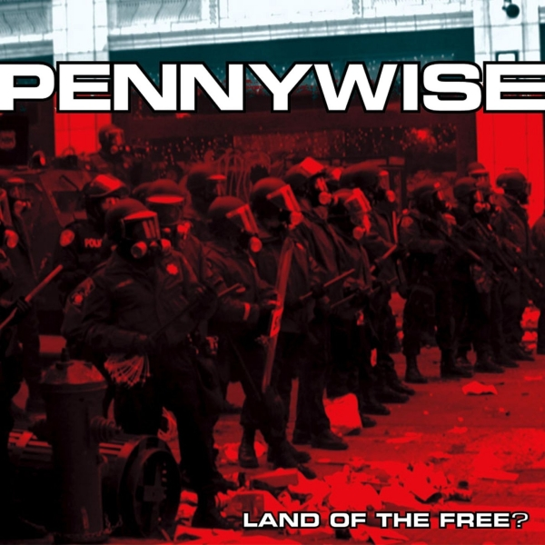 Pennywise Land of the Free? Cover Art