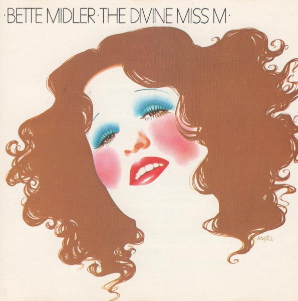 Bette Midler The Divine Miss M cover art