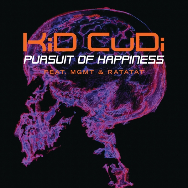 Kid Cudi feat. MGMT & Ratatat Pursuit of Happiness Cover Art