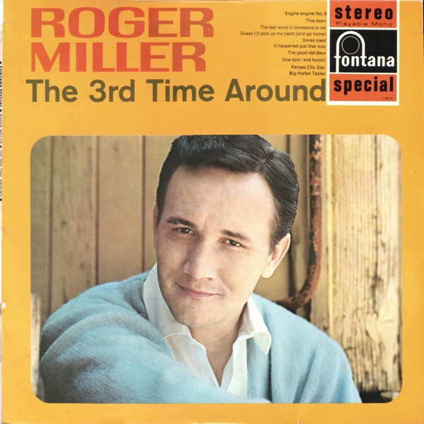 Roger Miller The 3rd Time Around cover art