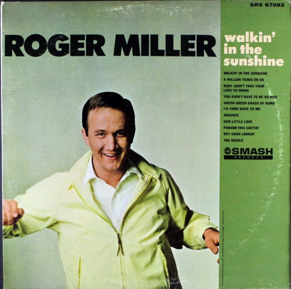 Roger Miller Walkin' in the Sunshine cover art