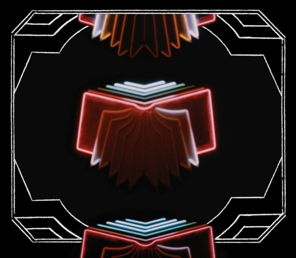 Arcade Fire Neon Bible cover art
