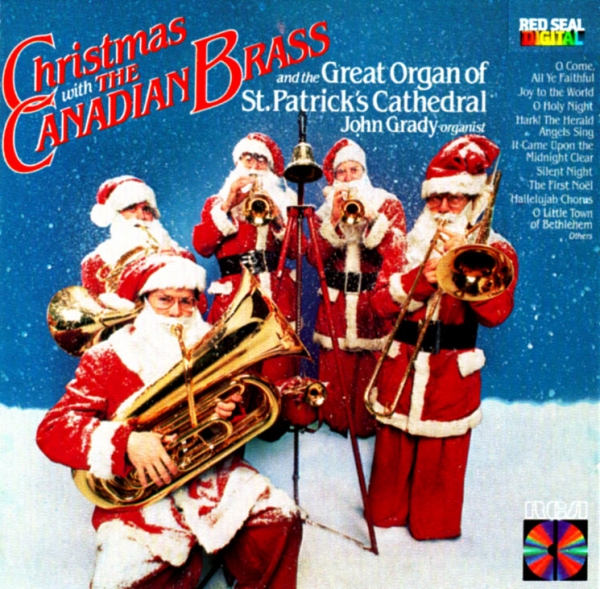 Canadian Brass Christmas With the Canadian Brass cover art