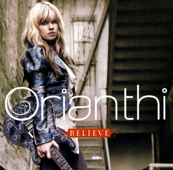 Orianthi Believe Cover Art