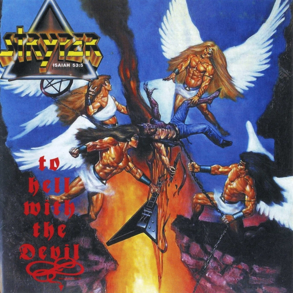 Stryper To Hell With the Devil Cover Art