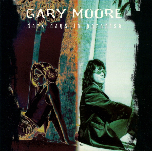 Gary Moore Dark Days in Paradise Cover Art