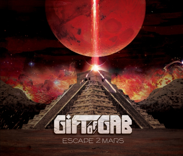 Gift of Gab Escape 2 Mars cover art