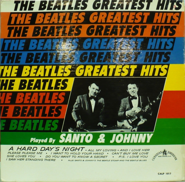 Santo & Johnny The Beatles Greatest Hits Played by Santo & Johnny Cover Art