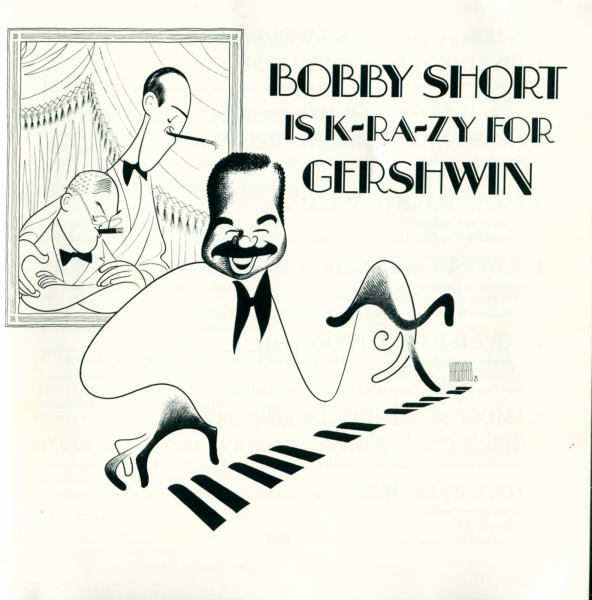 Bobby Short Bobby Short Is K-RA-ZY for Gershwin cover art