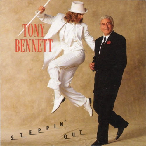 Tony Bennett Steppin' Out cover art
