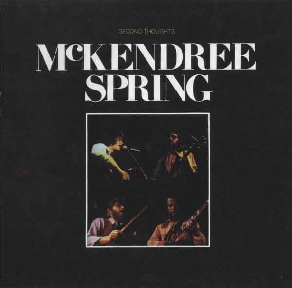 McKendree Spring Second Thoughts cover art
