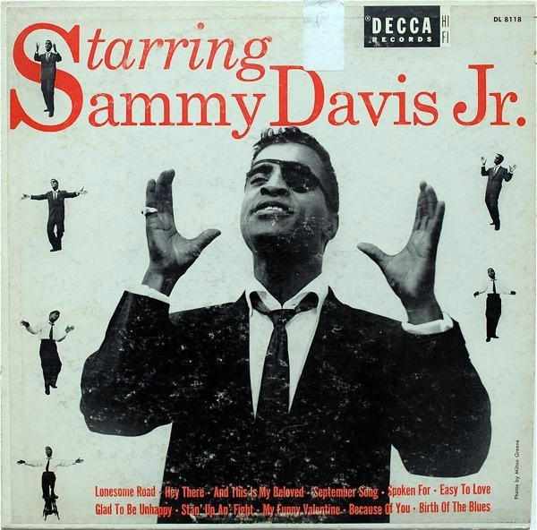 Sammy Davis Jr. Starring Sammy Davis Jr. cover art
