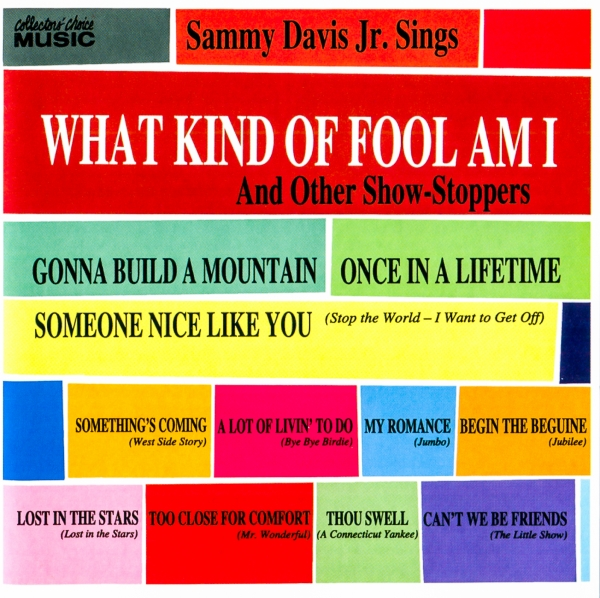 Sammy Davis Jr. What Kind of Fool Am I: And Other Show-Stoppers cover art