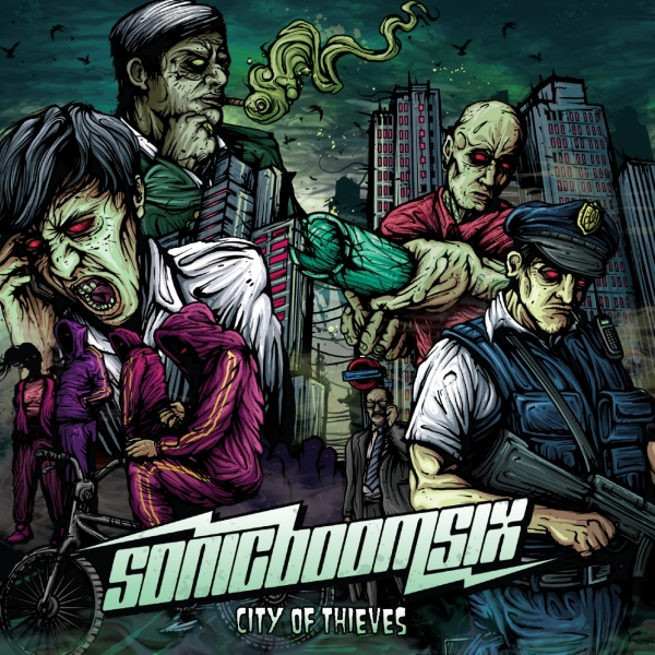 Sonic Boom Six City of Thieves cover art