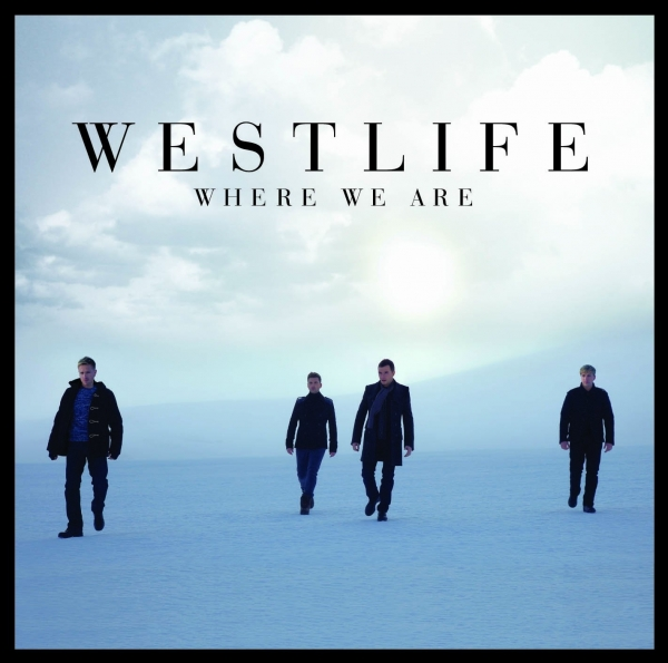 Westlife Where We Are cover art